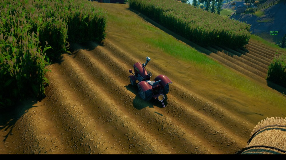 where to search farm for clues in Fortnite