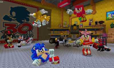 Sonic Minecraft