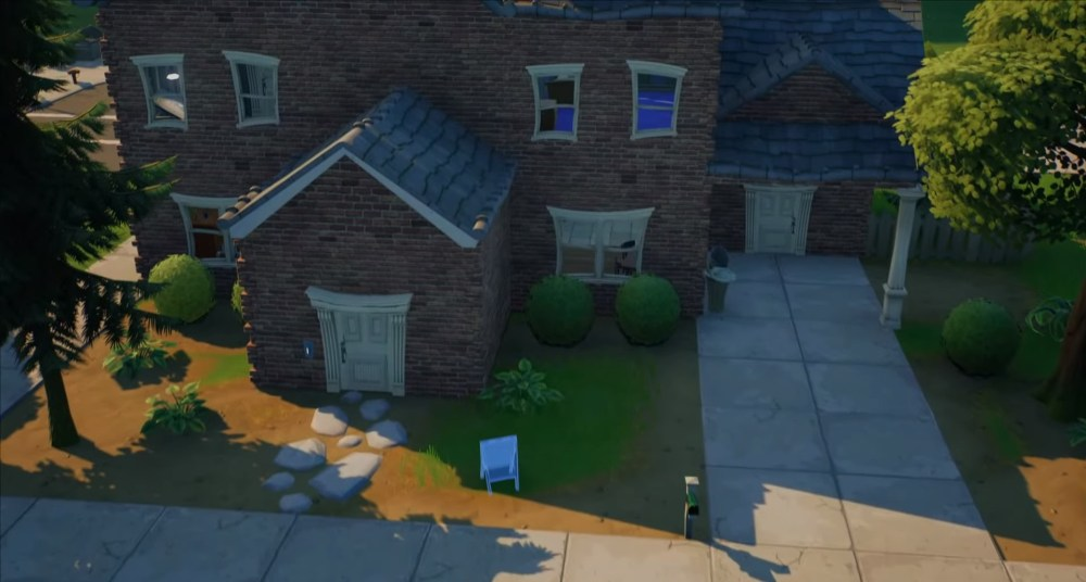 place welcome signs in pleasant park fortnite