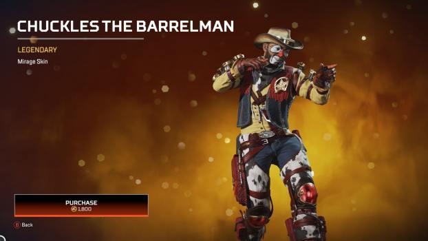 Mirage - Chuckles the Barrelman