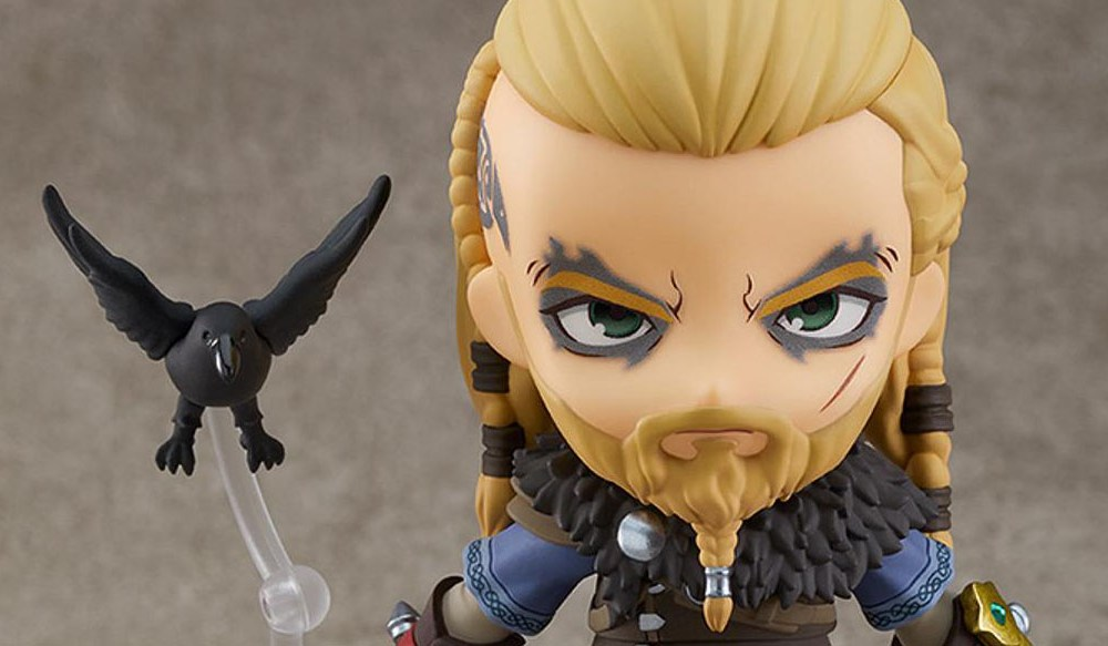 Assassin's Creed Valhalla Getting Grumpy Eivor Nendoroid by Good Smile Company
