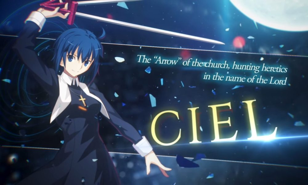 Melty Blood: Type Lumina Gets New Gameplay Trailer Introducing Ciel