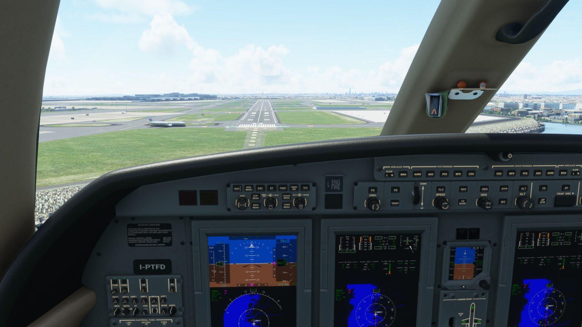 Microsoft Flight Simulator Autopilot