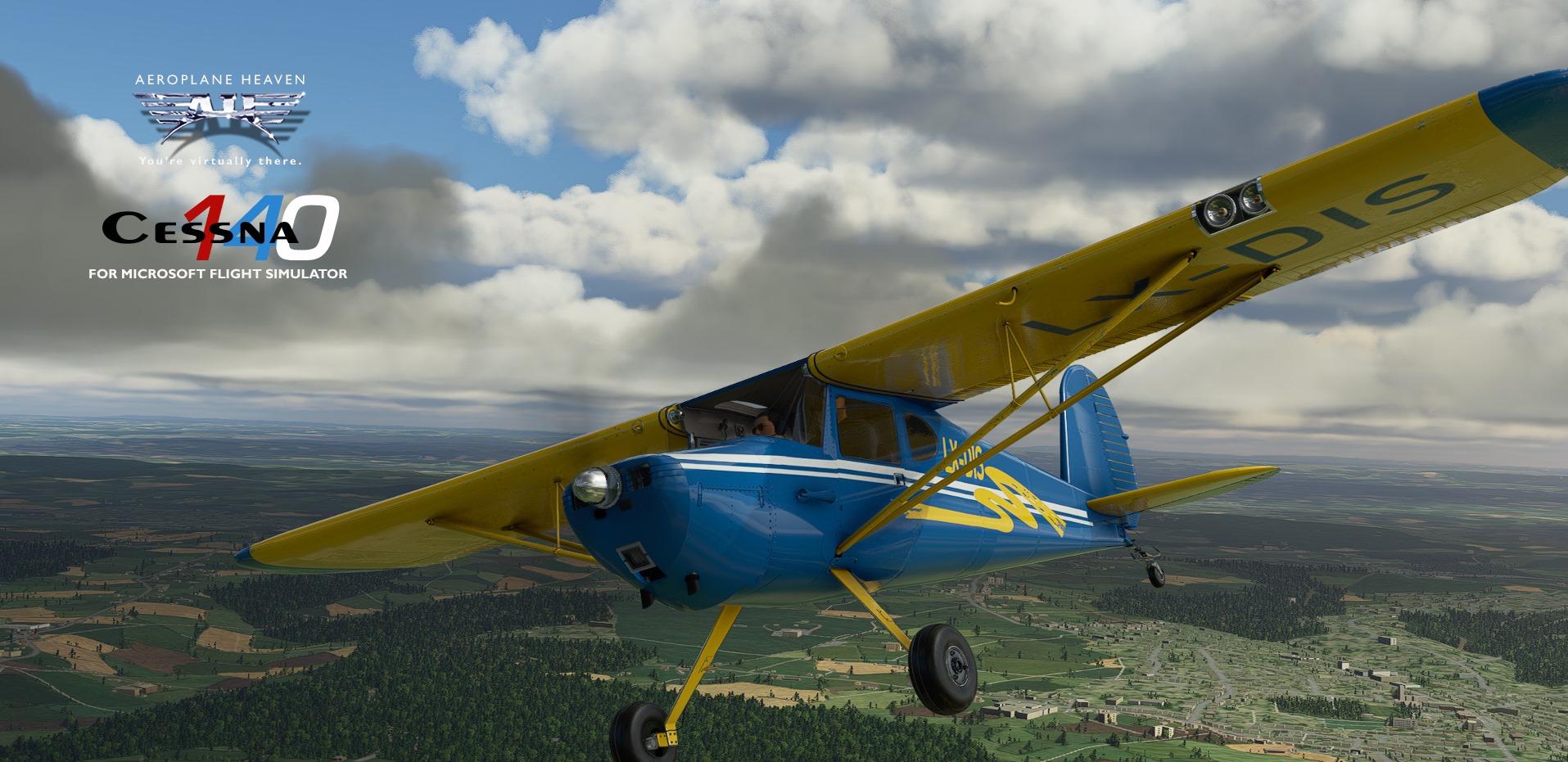 Microsoft Flight Simulator Cessna 140