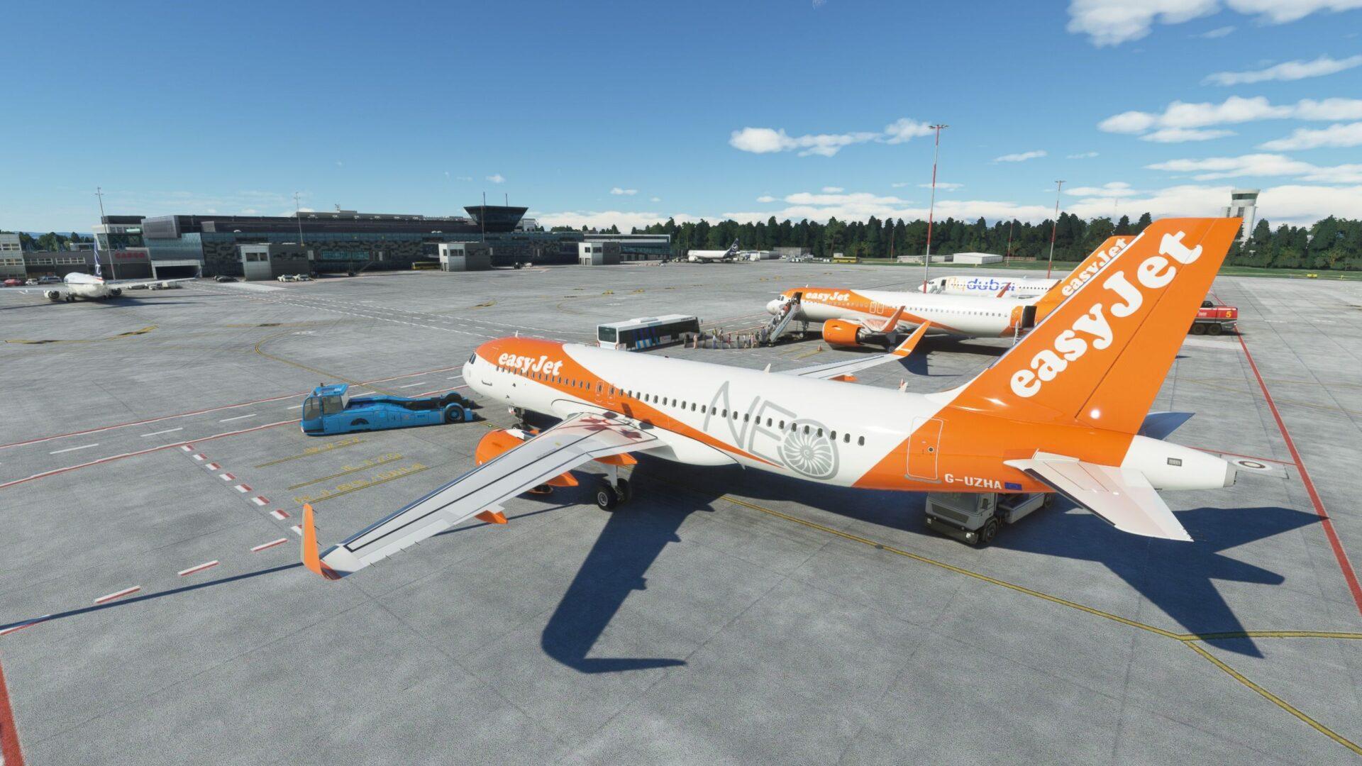 Kraków Airport for Microsoft Flight Simulator. Critic Review