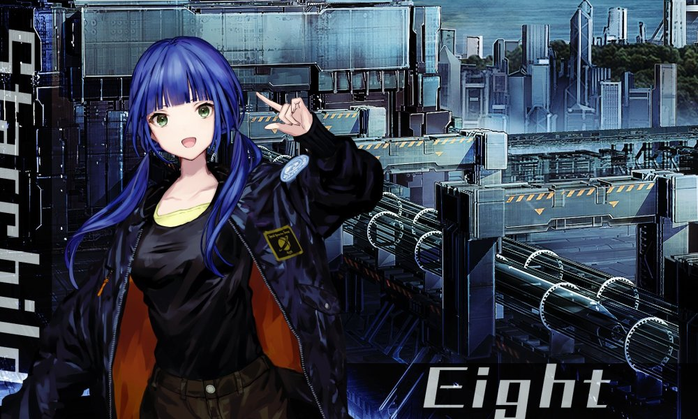 Mecha Strategy JRPG Relayer Introduces Eight & Her Voice Actress; PS4 to PS5 Upgrade Will Be Free