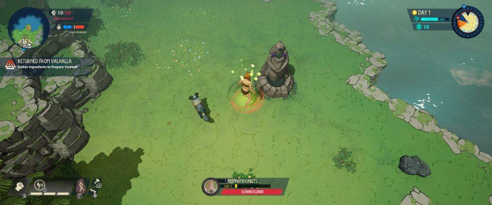 tribes of midgard heal