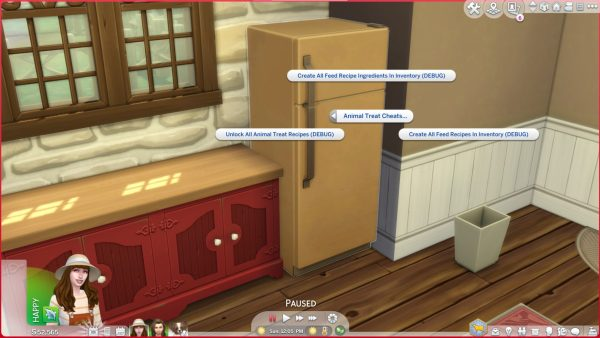 Sims 4 Cottage Living Animal Treat Cheats