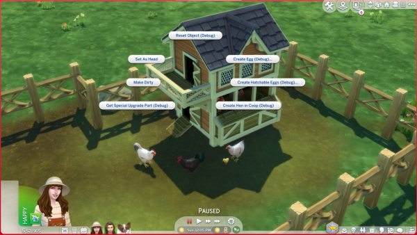 Sims 4 Cottage Living Chicken Cheats
