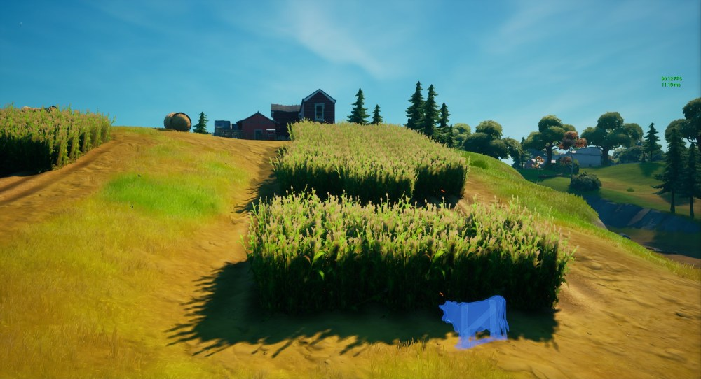 fortnite cow decoys locations