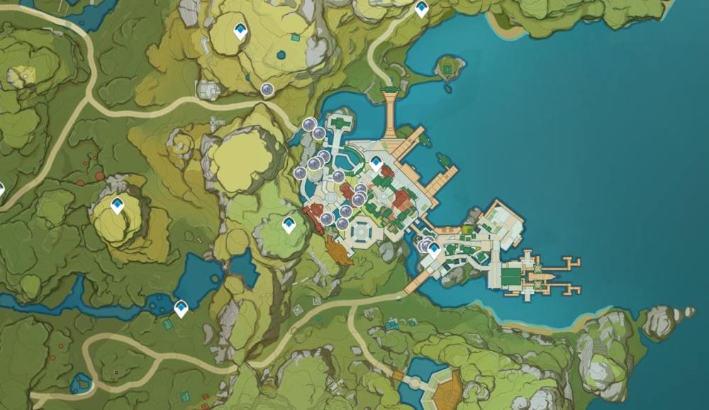 Genshin Impact Glaze Lily Locations