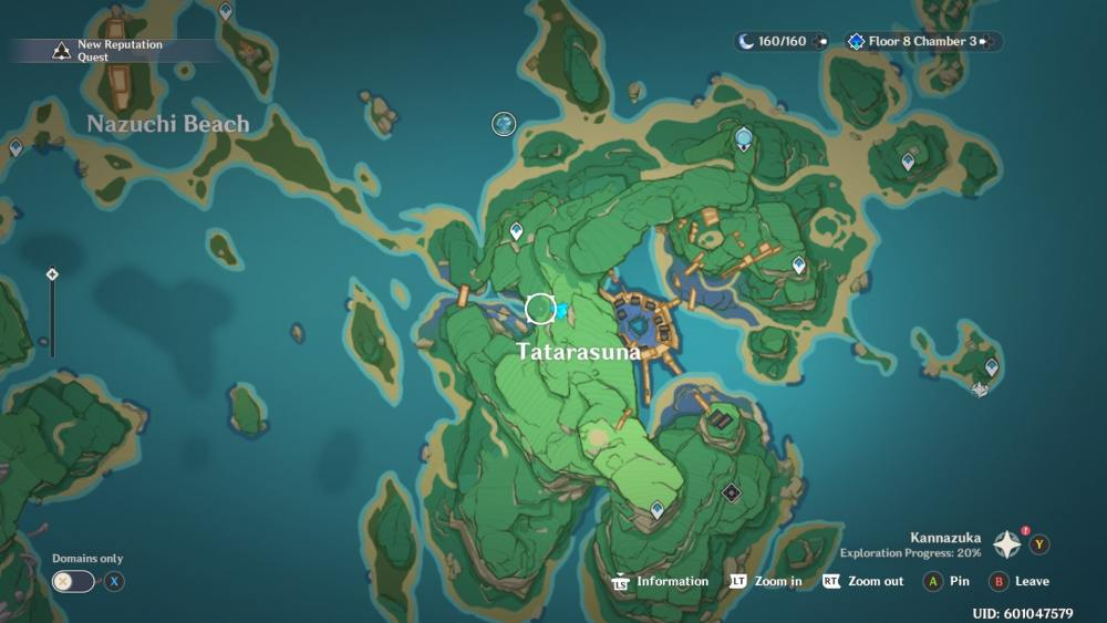 fifth tree map