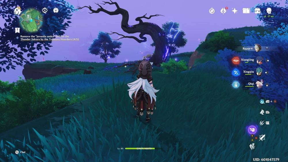 fifth tree location