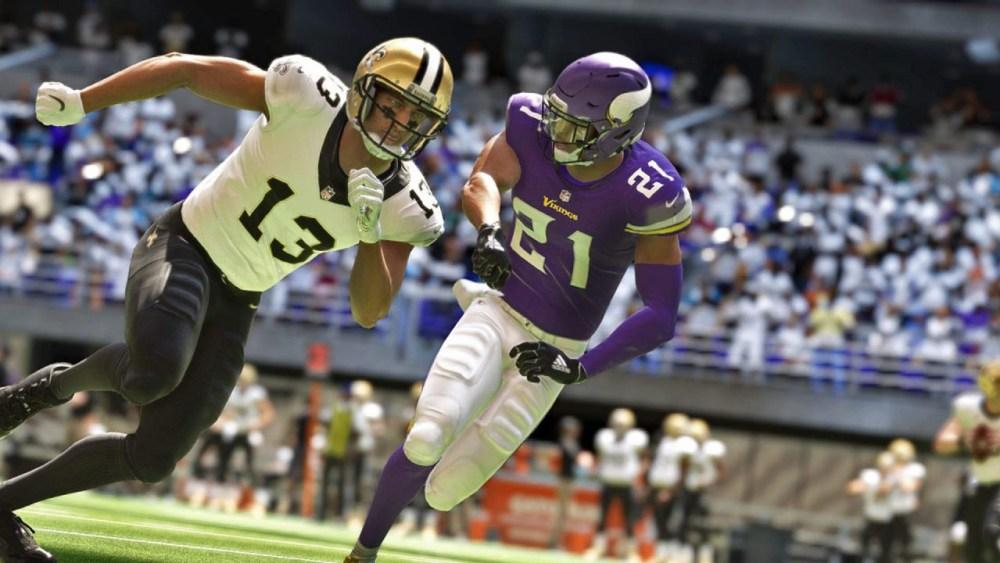 Madden NFL 22 - Michael Thomas and Jerick McKinnon