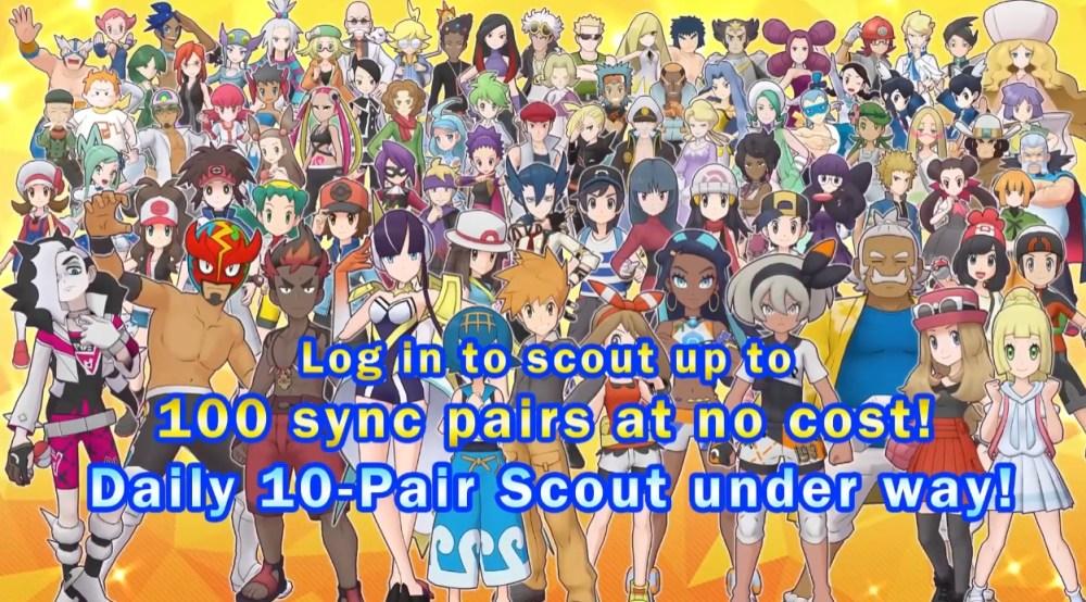 Pokemon Masters EX Scouts