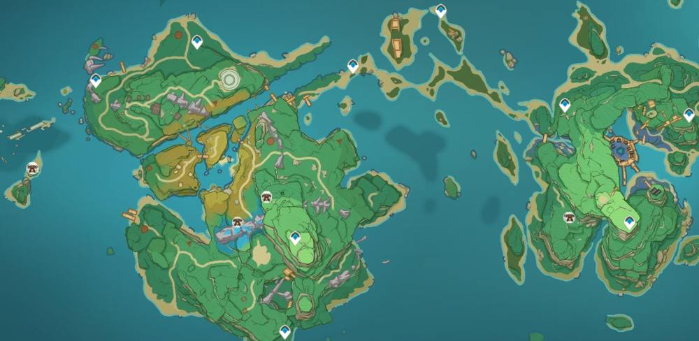 Ruin Sentinel Locations Second and Third Islands