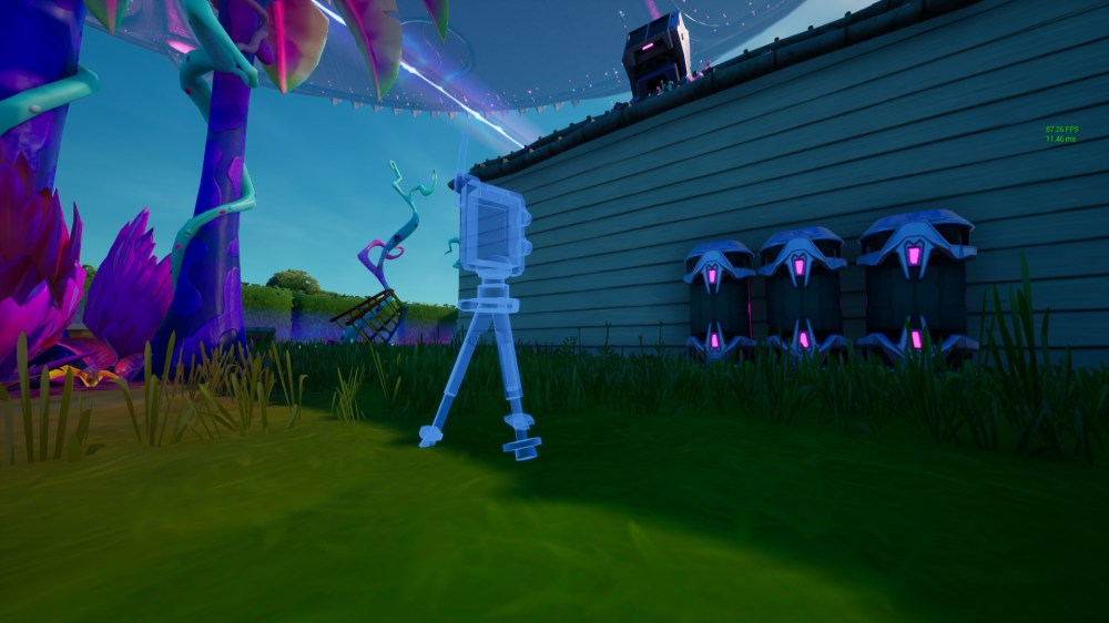 where to place fortnite bioscanner in alien biomes