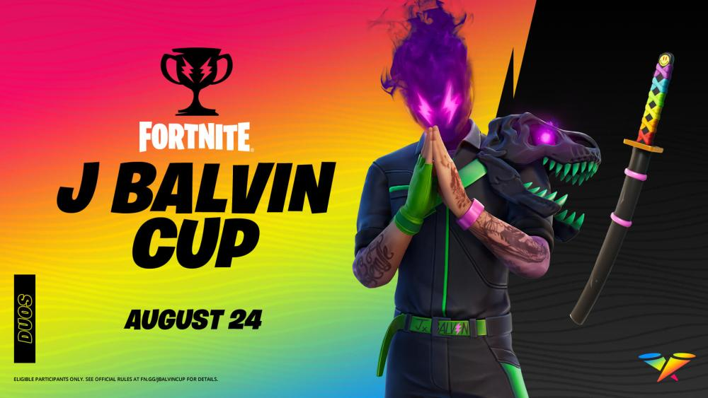 fortnite j balvin cup