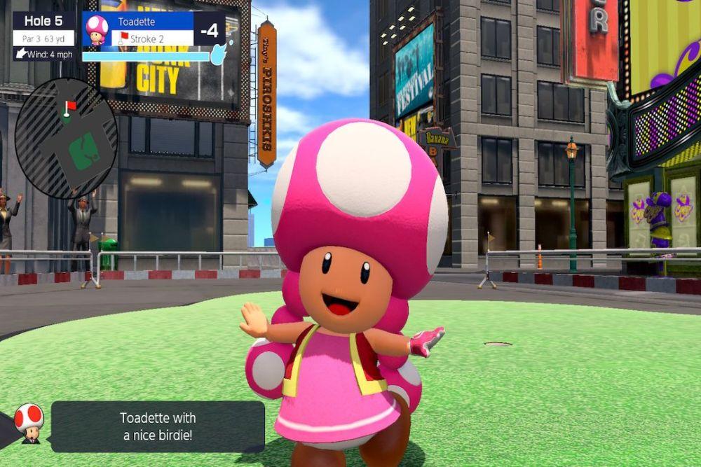 Mario Golf: Super Rush Toadette