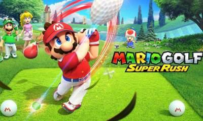mario golf super rush update