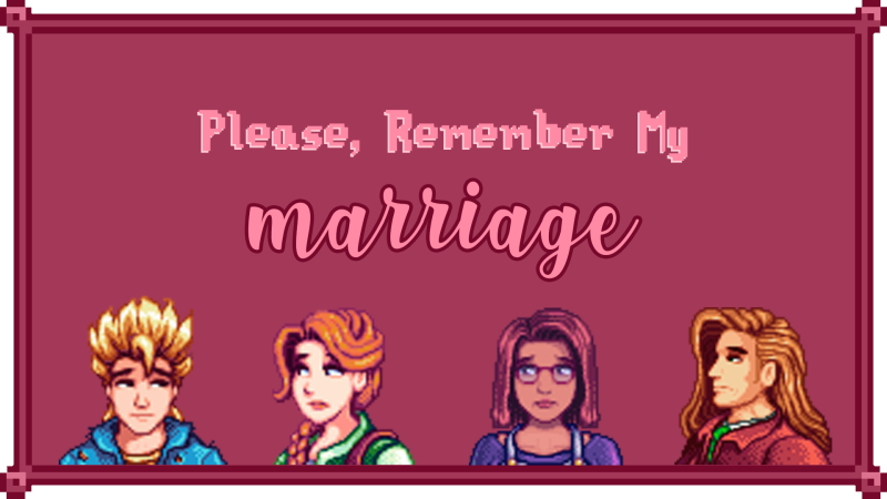 remember my marriage