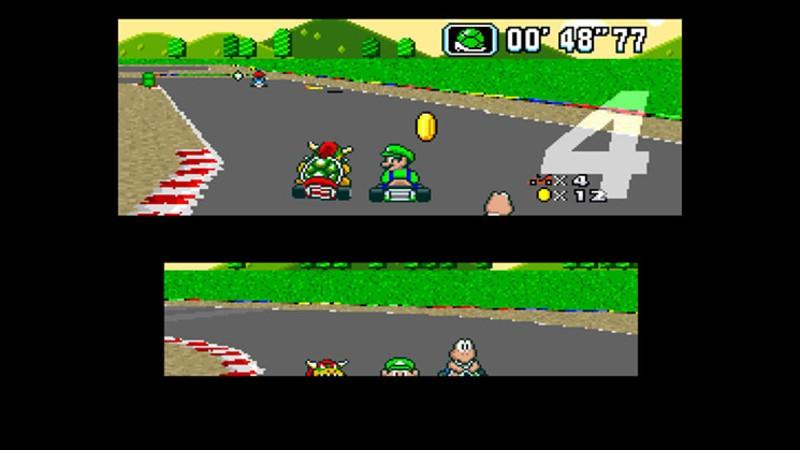 Super Nintendo franchises (Super Mario Kart)