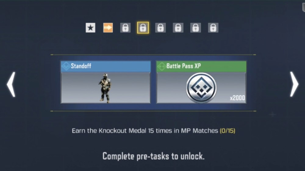 cod mobile knockout medals
