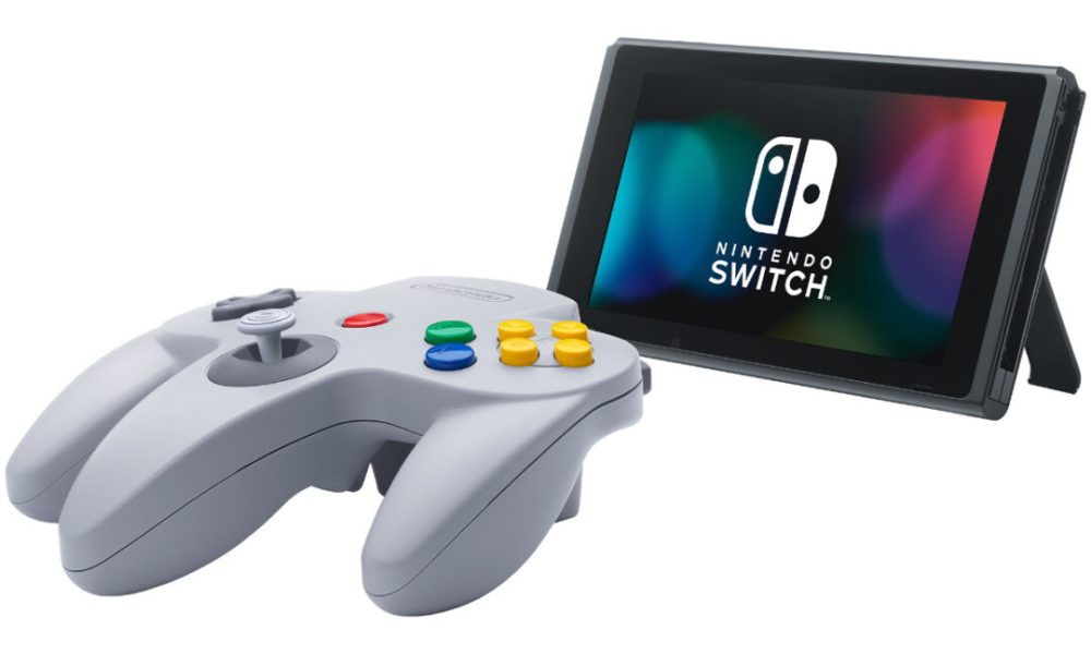 Here's a Better Look at Nintendo Switch's New N64 & Genesis Controllers