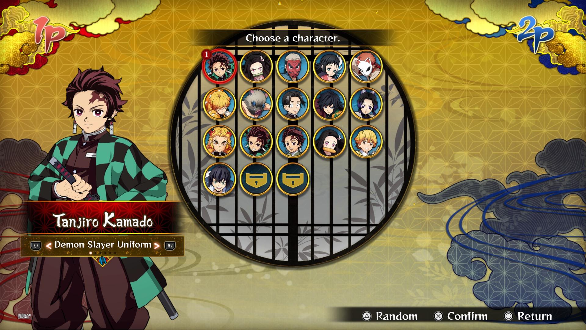 demon slayer hinokami chronicles all characters