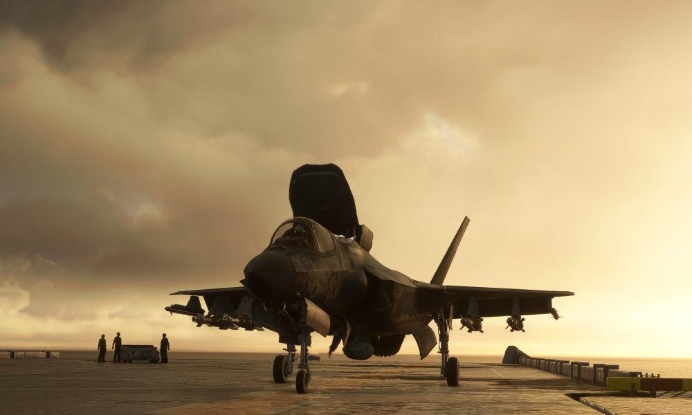Microsoft Flight Simulator F-35 & Warsaw Modlin Airport Get New Screenshots; Sandane Announced