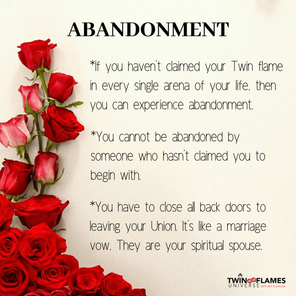 Why Does Twin Flame Abandonment Happen? - Twin Flames Universe