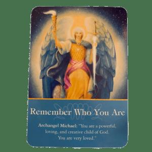 Archangel Michael Oracle Card