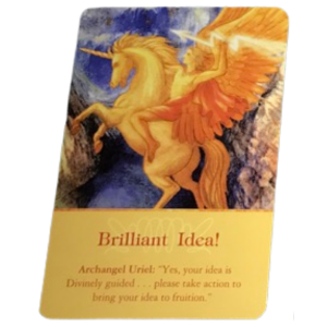 Archangel Uriel Oracle Card