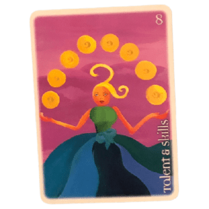 Eight of Coins - Oracle Tarot Deck