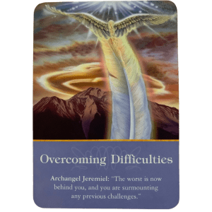Archangel Jeremiah Oracle Card