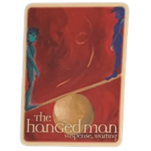 The Hanged Man of the Oracle Tarot