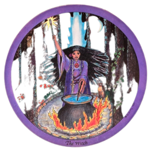 The Witch Oracle Card