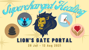 Harness the healing power of the Lion's Gate Portal