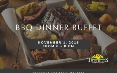 BBQ Dinner Buffet at Twin Hills Country Club