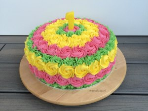 Smashcake felle kleuren