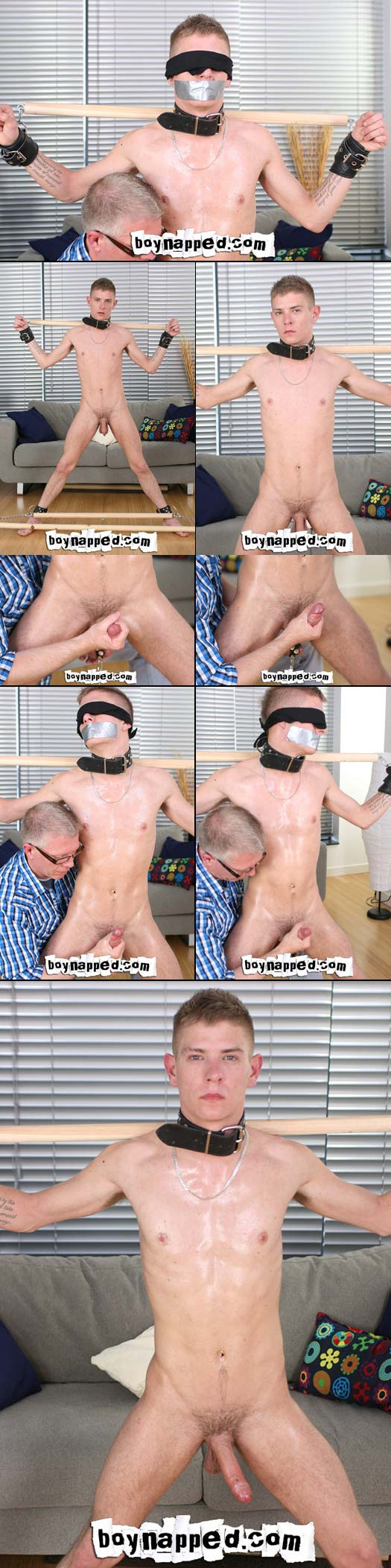 Twink Lad Mark Henley gets chained and tortured