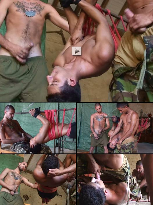 abducted twink roped and abused, ready for service