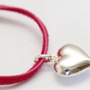 Silver Heart Necklace for children
