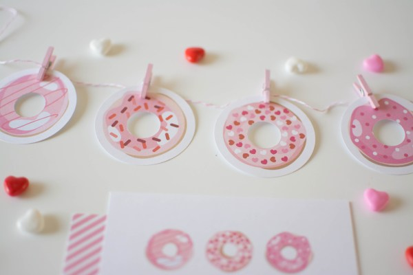 donut printables oh happy day - HD6000×4000