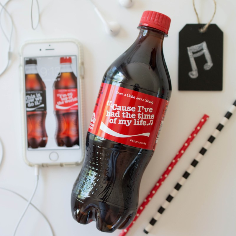 Share a Coke and a Song