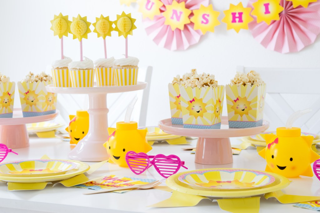 Host an adorable You are my Sunshine Party
