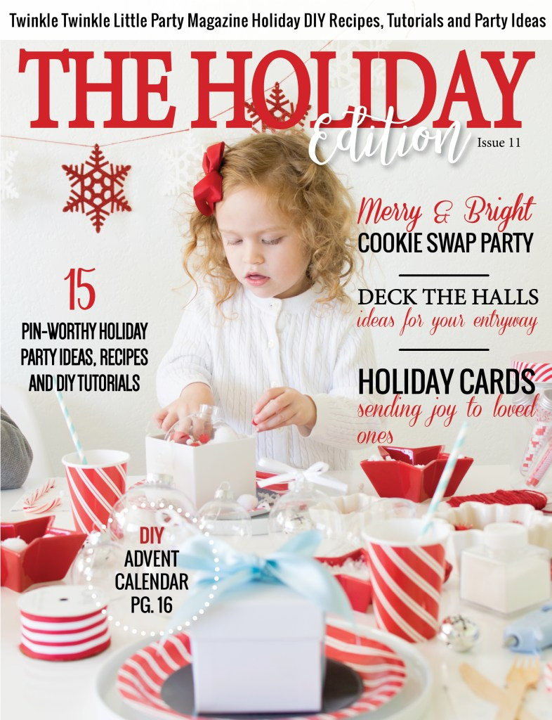 Twinkle Twinkle Little Party Magazine - Holiday Issue