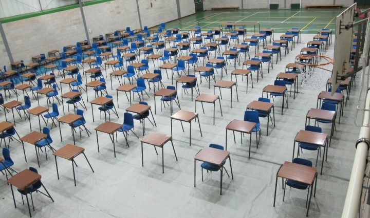GCSE Cancellation: An Empty Exam Hall