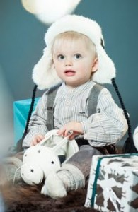 Maximilian, 21 months old