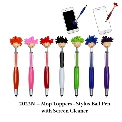 2022N — Mop Toppers – Stylus Ball Pen